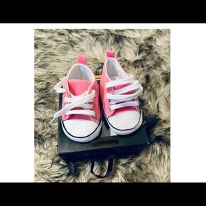 Other - Baby Pink sneakers converse style